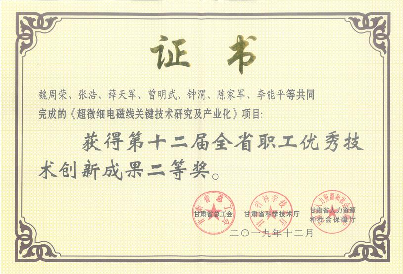 超微细电磁线(省十二届创新成果二等奖).png